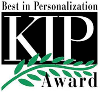 Best in personalization KIP award